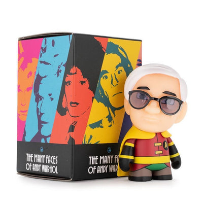 Dunny The Many Faces of Andy Warhol Blind Box 3""