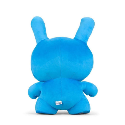 "Dunny Plush Velvet Pillow 20"" Cyan"