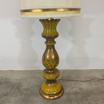Gold and yellow Lamp, Tall