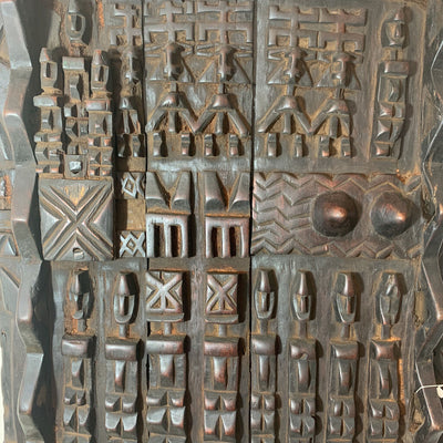 African Dogon Glanery Door- Central Mali, Circa 1940's