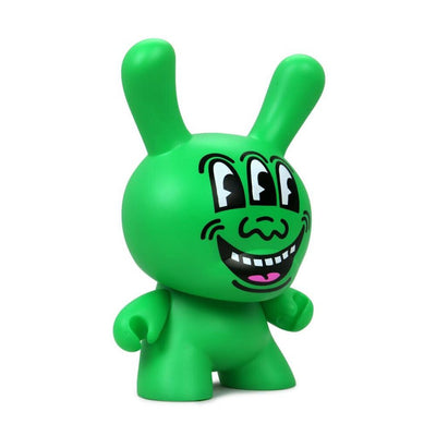 "Keith Haring Masterpiece 8"" Dunny Three Eyed Monster"