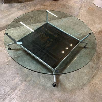 "JET Modern Coffee Table 50"" Dia 13"" H"