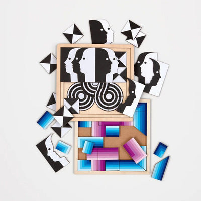 Jonathan Adler 3 Layer Wood Puzzle