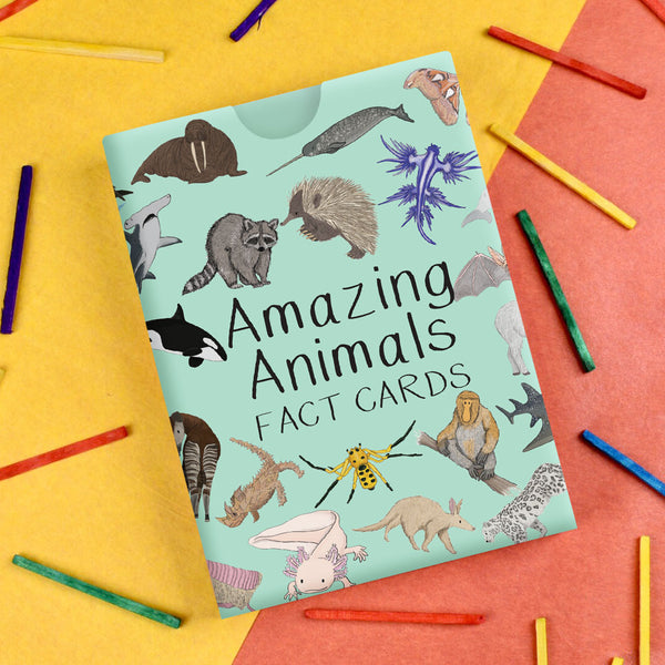 Amazing Animal Fact Cards - Set #1