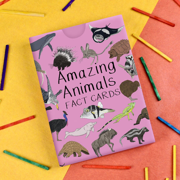 Amazing Animal Fact Cards - Set #2