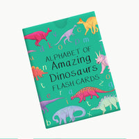 Alphabet of Amazing Dinosaurs Flash Cards