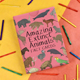 Amazing Extinct Animals Fact Cards