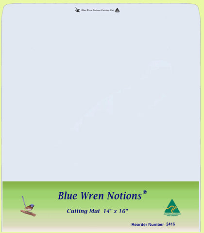"Blue Wren Cutting Mat 14"" x 16"" (2416)"