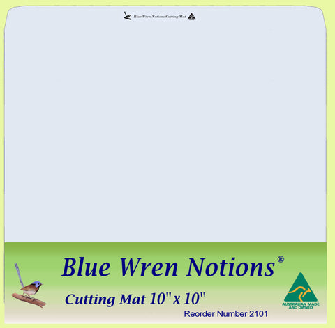 "Blue Wren Cutting Mat 10"" x 10"" (2101)"