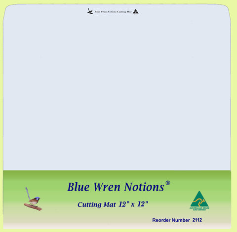 "Blue Wren Cutting Mat 12"" x 12"" (2112)"