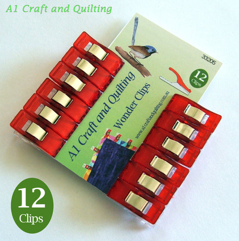 Wonder Clips - A1 Craft and Quilting's own