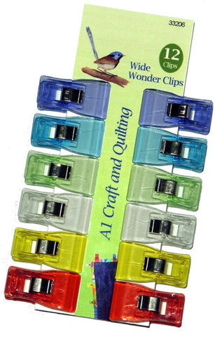 Wide Wonder Clips - A1 Craft and Quiltings own