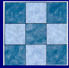 "Squares 4½"" cut (4"" finished) Multi x 2 - 6005 - includes cutting mat"