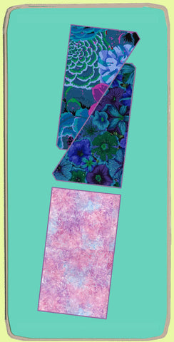 "Rectangle 2""x 4"" finished & Half Rectangle 2"" x 4"" finished - 6036"