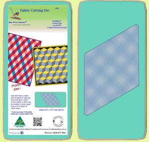 "Rhombus/Diamond 5"" finished sides - 6099 - includes cutting mat"