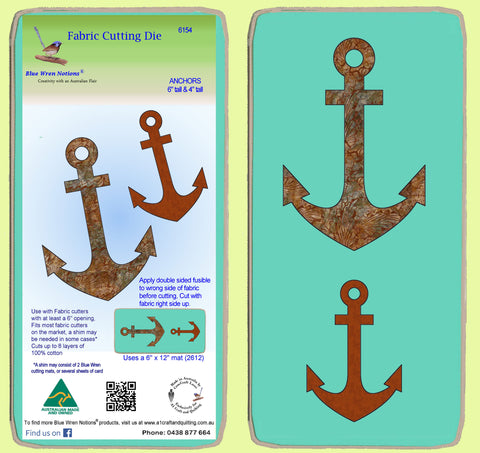 Anchors - 6154 - Mat included
