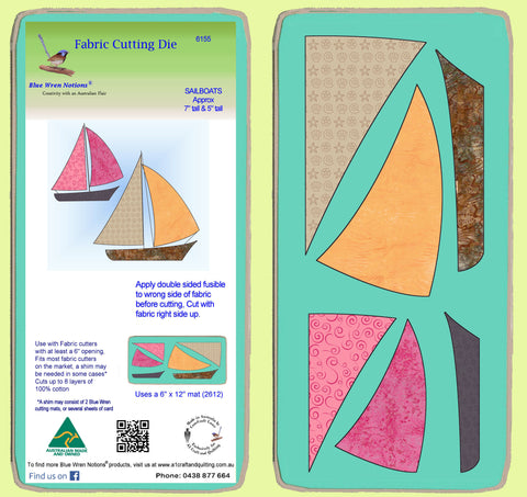 Sailboats - 6155 - Mat included