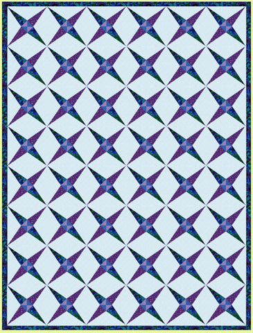"Crossed Canoes - 6287- makes a 8"" finished block - mat included"