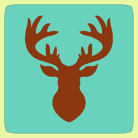 "Deer oh Deer  - Approx 7.25""x 9"" - 6543 - includes cutting mat"