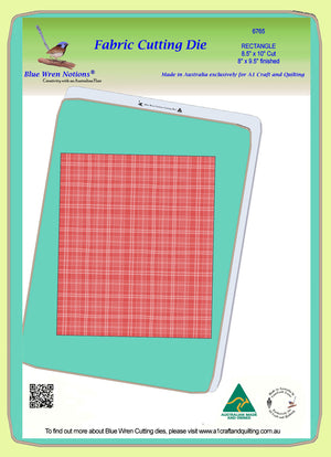 "Rectangle 8½"" x 10"" cut, 8"" x 9½"" finished, - 6765 - Mat (2015) included."