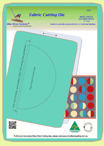"Circle &/or Semicircle 11"" ""Magic Series"" - 6767 - Mat included"