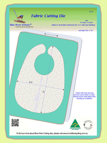Bib, for Toddler or Baby - 6778 - Mat included