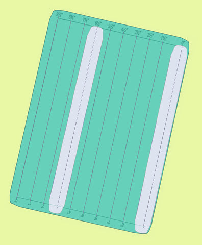 "Magic Strips- Multi 1""to 9.5"" in 1/2"" increments (not 9"") - 6720 - 4 strip mats included!"