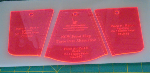 NCW Front Flap/ three part alternative