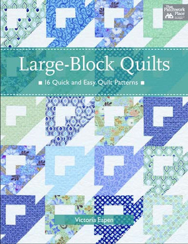 Large Block Quilts - Victoria Eapen