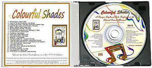 "Instrumental Music - ""Colourful Shades"" CD by Edward R. Grimmer - 22 Great Songs"