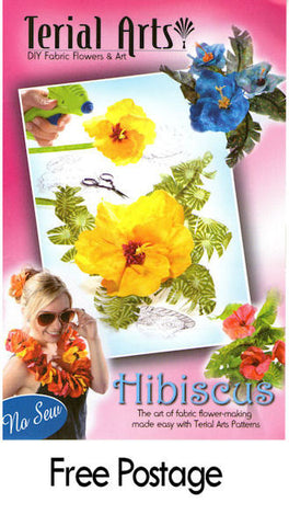 Hibiscus and Palm pattern - 11006