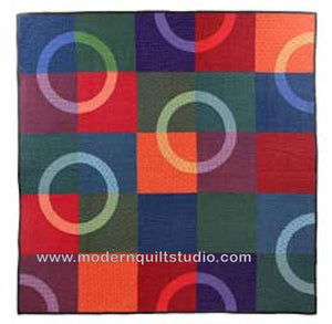 Eclipse Acrylic Template for pattern by Modern Quilt Studio CL2122