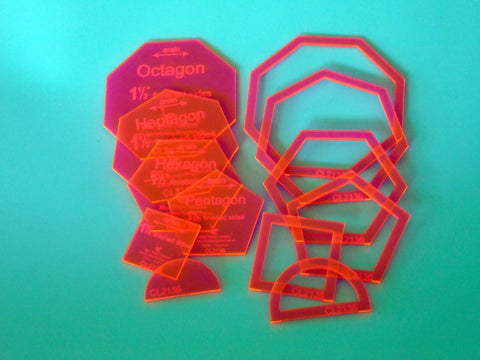 Shapeagons (Happy Hippo Set)  CL2136