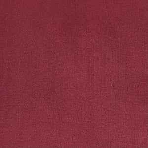 Burgundy 180 thread count cotton percale from our made-to-measure collection