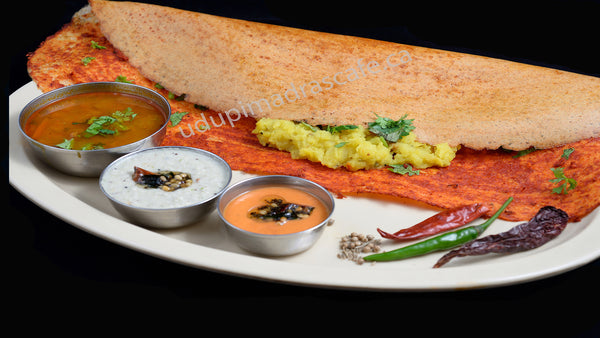 Mirch Masala Dosa (Mangalorean Masala)
