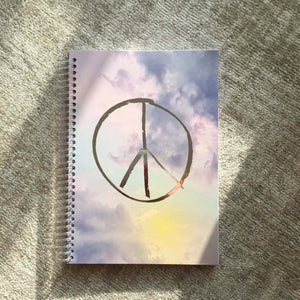 Notizbuch PEACE VIBES
