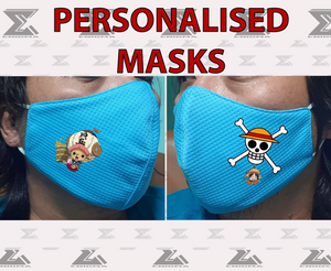 Personalised Face Mask (COVID-19 prevention)