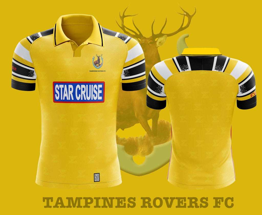 Tampines Rovers FC Home Retro Kit