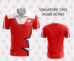 Retro 1993 Singapore Football - Home Jersey