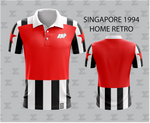 Retro 1994 Singapore Football - Home Jersey
