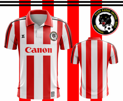 Retro 1996 Tiong Bahru United FC - Home Jersey from the first season of the S-league