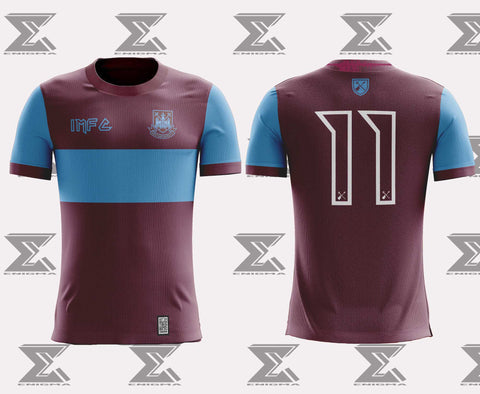 Iron Maiden x West Ham United Home Shirt