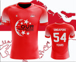 NDP SG54 Fantasy Singapore Football Jersey