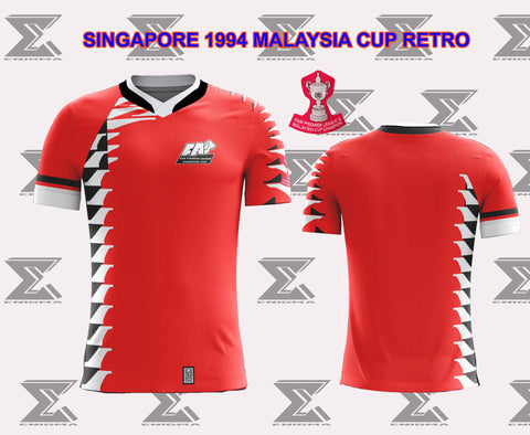 Singapore Retro 1994 Malaysia Cup Final - Home Jersey