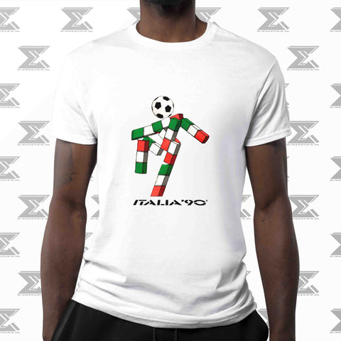 Italia 1990 World Cup Polyester Dry-On T-Shirt