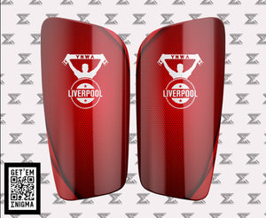 Liverpool FC YNWA Shinguards by Enigma