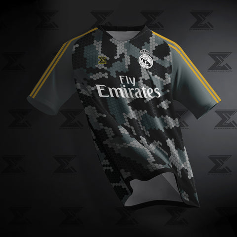 Real Madrid CF Concept 3rd Kit By Enigma