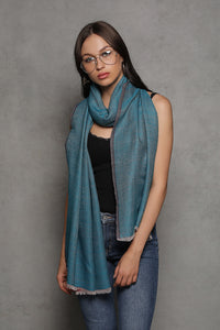 Plain Reversible Pashmina Wrap - The Pashm