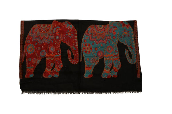 Animal Weave Kani Pashmina Shawl