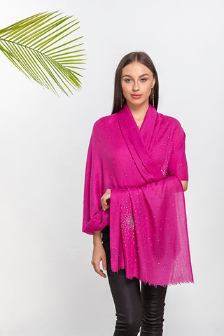 Starburst Crystal Cashmere Wrap - The Pashm